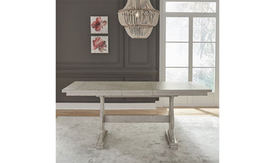 Low Country Gathering Table-dining tables-Liberty-White-Jennifer Furniture