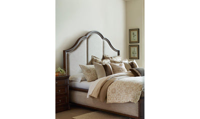 Refined Rustic by Rachael Ray Upholstered Bed-beds-Legacy Classic Furniture-Queen-Jennifer Furniture