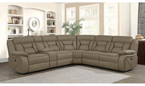 HIGGINS 4 Piece Power Sectional