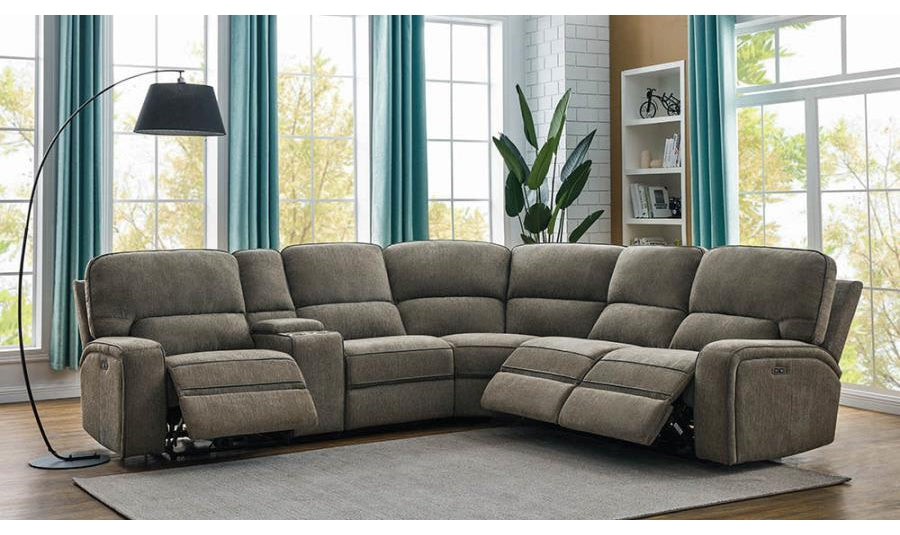 Dundle 6 Piece Power Sectional