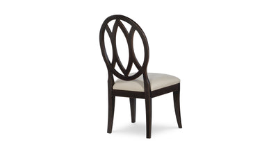 Everyday Dining by Rachael Ray Oval Back Side Chair-side chairs-Legacy Classic Furniture-Jennifer Furniture