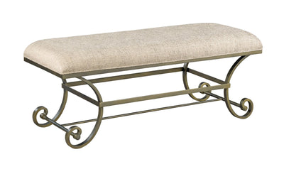 SAVONA BED BENCH-BENCHES-American Drew-Jennifer Furniture