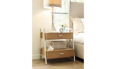Hygge by Rachael Ray Leg Night Stand-nightstands-Legacy Classic Furniture-Jennifer Furniture