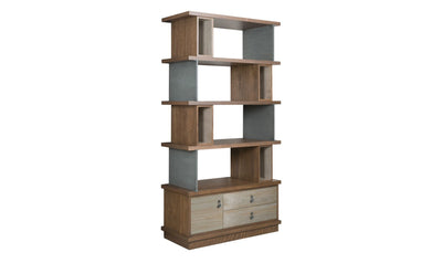 AD MODERN SYNERGY EPOQUE BOOKCASE-cabinets-American Drew-Jennifer Furniture