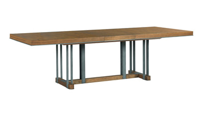 AD MODERN SYNERGY CURATOR RECTANGULAR DINING TABLE COMPLETE-dining tables-American Drew-Jennifer Furniture