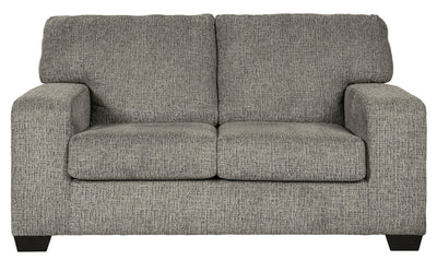 Tarmoli Loveseat-Loveseats-Ashley-Granite-No Sleeper-Jennifer Furniture