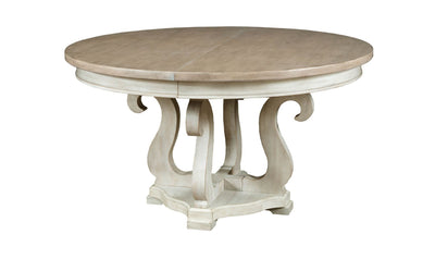 LITCHFIELD SUSSEX ROUND DINING TABLE COMPLETE-dining tables-American Drew-Jennifer Furniture