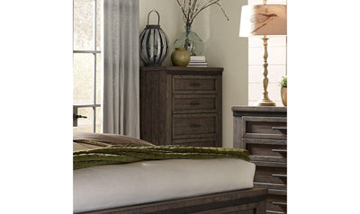 Warewood 5 Drawer Chest-Jennifer Furniture