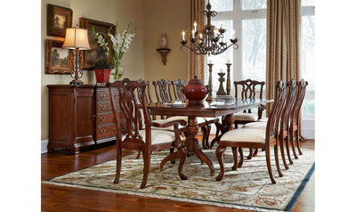 CHERRY GROVE PEDESTAL TABLE-dining tables-American Drew-Jennifer Furniture
