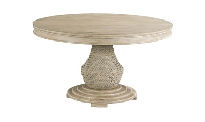 VISTA LARGO ROUND DINING TABLE COMPLETE-dining tables-American Drew-Jennifer Furniture