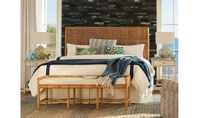 Coastal Living Escape Pull Up Bench-Jennifer Furniture