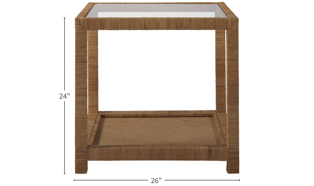 Coastal Living Escape Long Key End Table-Jennifer Furniture