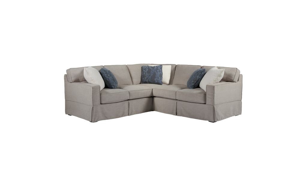 Angora 2 Piece Sectional-Jennifer Furniture
