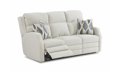 Kami Power Sofa-sofas-Klaussner-White-Fabric-Jennifer Furniture