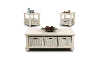 Treasures 3-PC Table Set-Jennifer Furniture