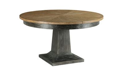 ARDENNES LAURENT ROUND DINING TABLE COMPLETE-dining tables-American Drew-Jennifer Furniture