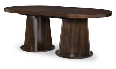 "Paldao Oval Dbl Pedestal Table - Top (One-20"" Leaf, Seats 6-8)-dining tables-Legacy Classic Furniture-Jennifer Furniture"