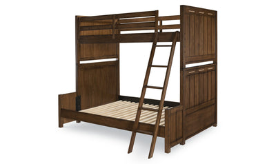 Lake House Complete Twin over Bunk Bed-beds-Legacy Classic Furniture-Twin-Jennifer Furniture