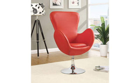 ACCENT CHAIR (ORANGE)