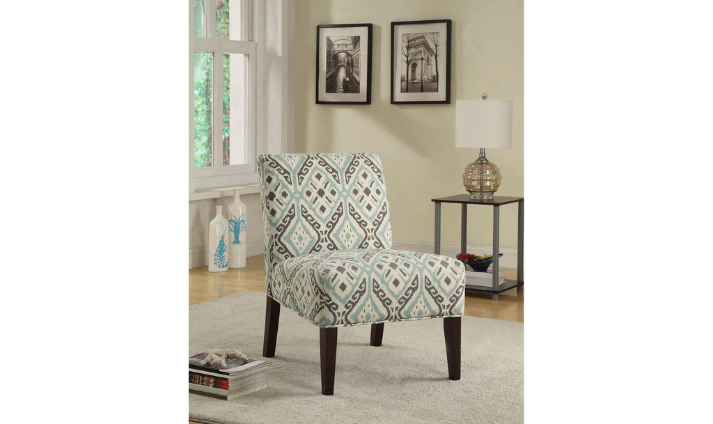 ACCENT CHAIR (BEIGE)-Jennifer Furniture