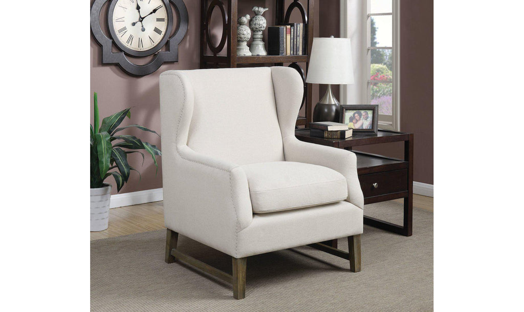 ACCENT CHAIR (LINEN)