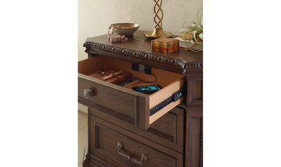 Refined Rustic by Rachael Ray Night Stand-nightstands-Legacy Classic Furniture-Jennifer Furniture