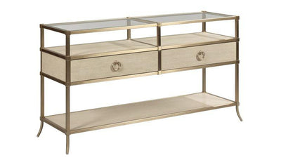 LENOX CAPRI CONSOLE TABLE-coffee tables-American Drew-Jennifer Furniture