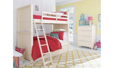Complete Ladder Bed, King 6/6-beds-Legacy Classic Furniture-Jennifer Furniture
