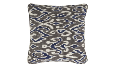 Roxanne Pillow-Pillows-Ashley-Blue/Brown-Jennifer Furniture