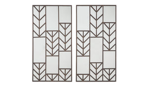 Daniela Accent Mirror Set (2/CN)-Jennifer Furniture