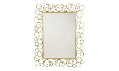 Dhaval Accent Mirror-Jennifer Furniture
