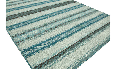 "Andes Rug-rugs-Kalaty-9'6"" x 13'-Canyon turquoise-Jennifer Furniture"