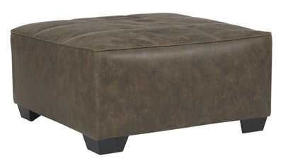 Abalone Oversized Accent Ottoman-ottomans-Ashley-Jennifer Furniture