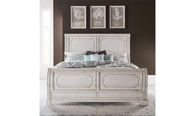 Abbey Road Sleigh Bed-beds-Liberty-Jennifer Furniture