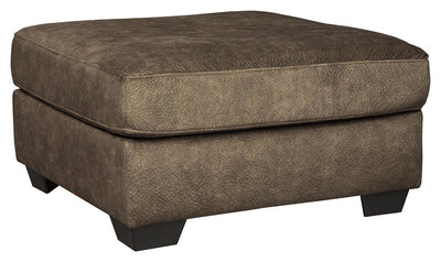 Accrington Oversized Accent Ottoman-ottomans-Ashley-Brown-Jennifer Furniture
