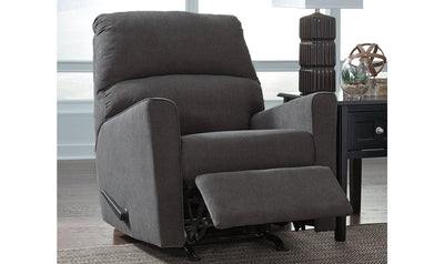 Alenya Rocker Recliner-recliners-Ashley-Gray-Jennifer Furniture