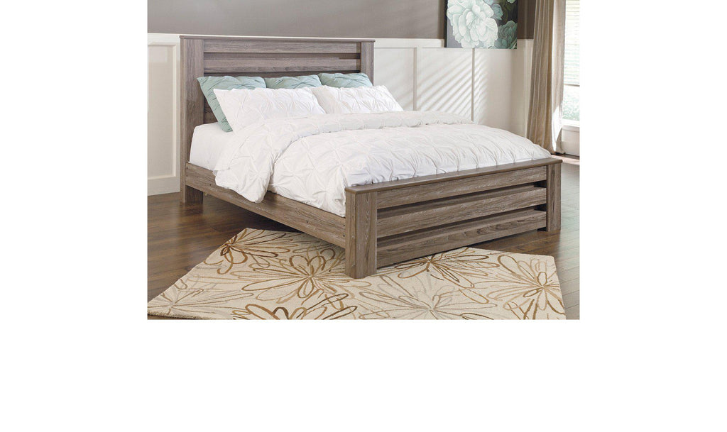 Zachary Panel Bed
