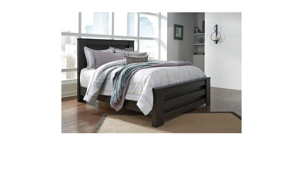 Zachary Panel Bed-Jennifer Furniture