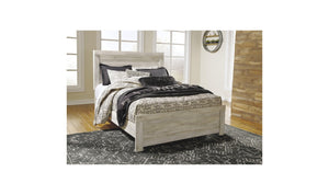 Bellaby Whitewash Bed-Jennifer Furniture