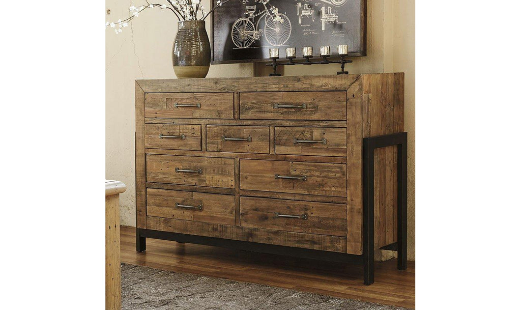 Sommerford Storage 5 Piece Bedroom Set-Jennifer Furniture