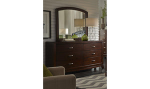 Avalon Dresser w/ Mirror Option-Jennifer Furniture