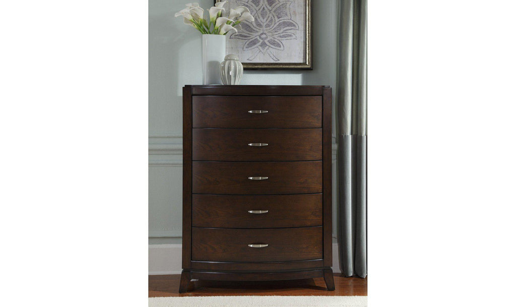 Avalon 5 Drawer Chest-Jennifer Furniture