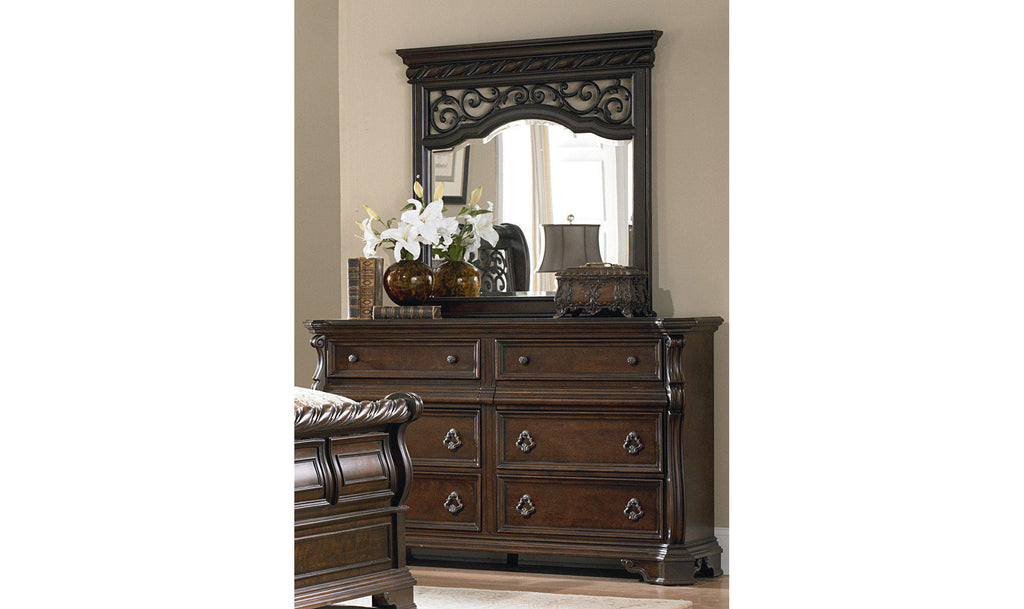 Arbor Place Dresser & Mirror-Jennifer Furniture