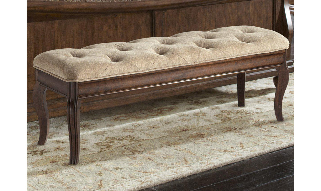 Rustic Traditions Bed Bench-Jennifer Furniture