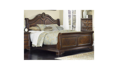 Highland Court Queen Sleigh Bed-Jennifer Furniture