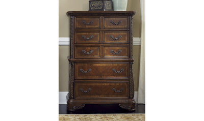 Highland Court 5 Drawer Chest-Jennifer Furniture