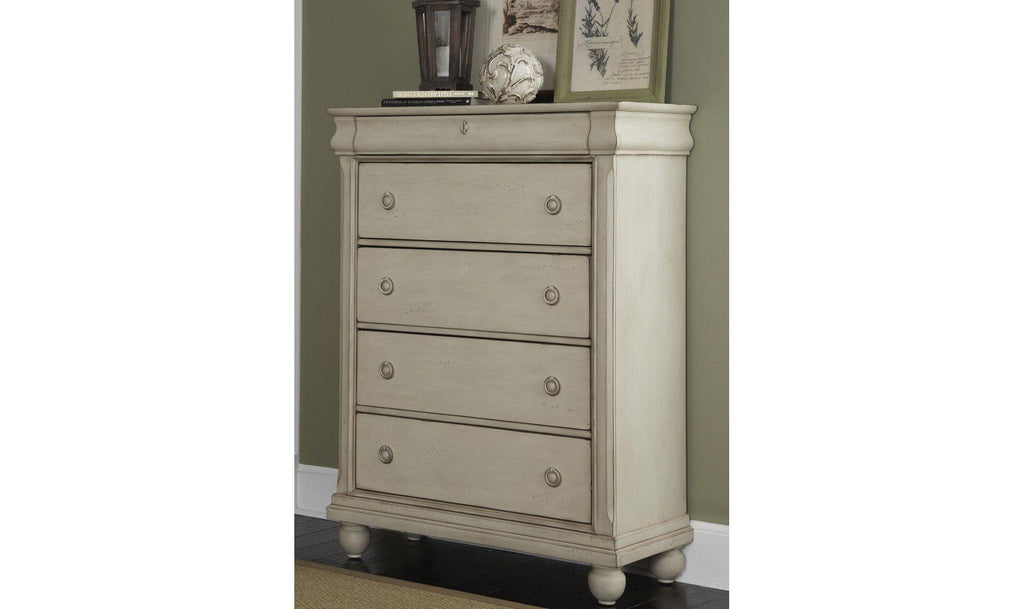 Rustic Traditions II 5 Drawer Chest-Jennifer Furniture