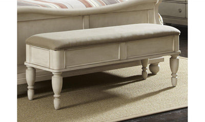 Rustic Traditions II Bed Bench-Jennifer Furniture