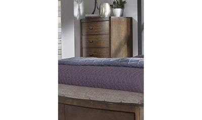 Avalon III 5 Drawer Chest-Jennifer Furniture