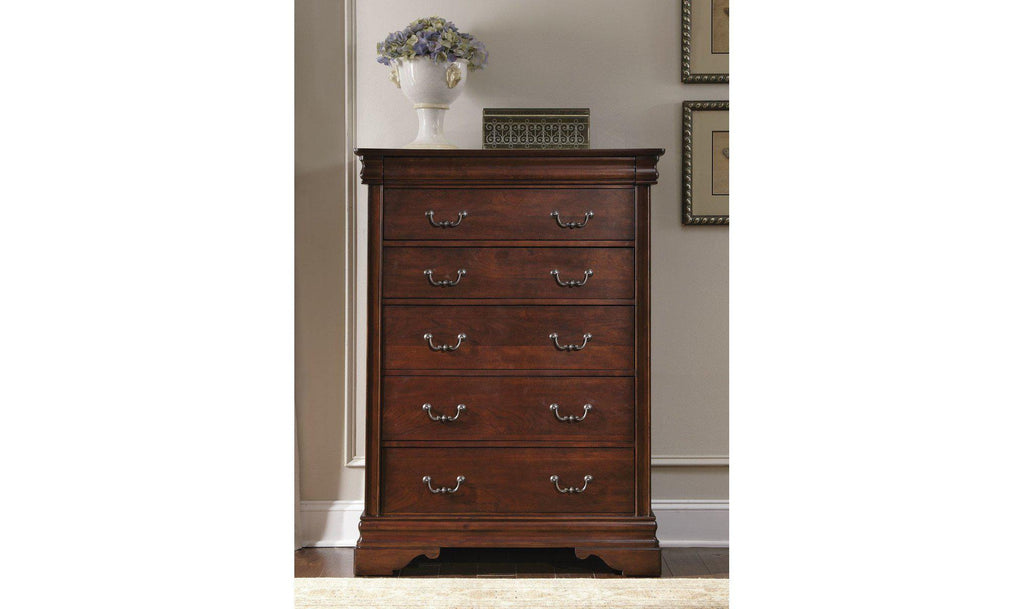 Carriage Court 6 Drawer Chest-Jennifer Furniture